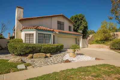 Simi Valley Single Family Home For Sale: 2531 Radford Court