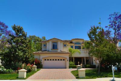 Westlake Village Single Family Home For Sale: 2612 Yellowwood Drive
