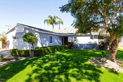 Ventura Single Family Home For Sale: 5697 Larkin Street