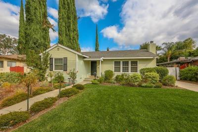 Tarzana Single Family Home For Sale: 5918 Beckford Avenue