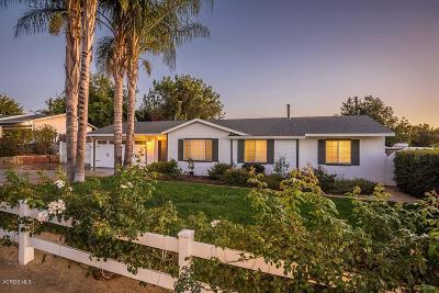 Thousand Oaks Single Family Home For Sale: 950 Calle Tulipan