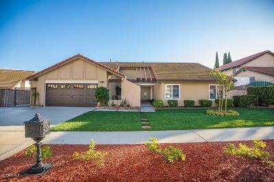 Thousand Oaks Single Family Home For Sale: 3461 Pembridge Street
