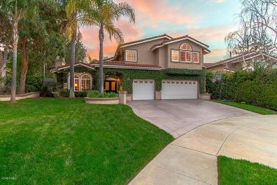 Simi Valley CA Single Family Home For Sale: $1,079,000
