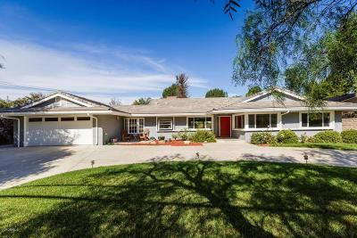 Thousand Oaks Single Family Home For Sale: 751 Camino Dos Rios
