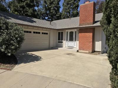 Camarillo Single Family Home For Sale: 496 Madreselva Court