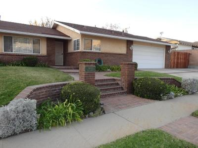Simi Valley Single Family Home For Sale: 3007 San Angelo Avenue