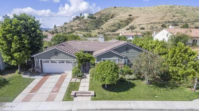Simi Valley Single Family Home For Sale: 5348 Moonshadow Street