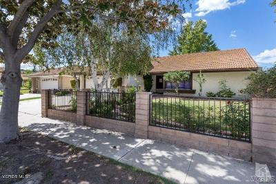 Moorpark Single Family Home For Sale: 13207 Peach Hill Road