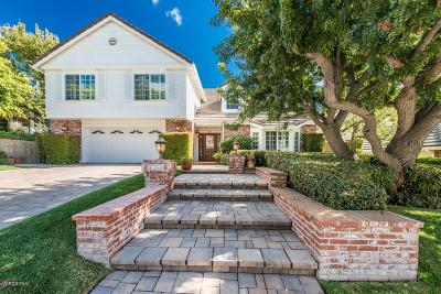 Agoura Hills Single Family Home For Sale: 5754 Willowtree Drive