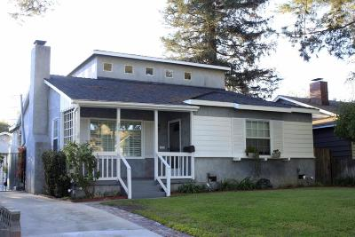 Burbank Single Family Home For Sale: 237 North Niagara Street