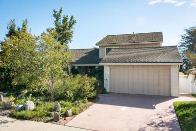 Camarillo Single Family Home For Sale: 2736 Via Del Nogal