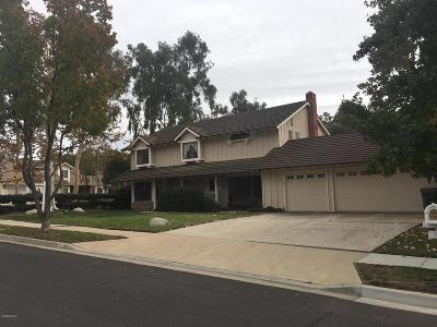 Simi Valley CA Single Family Home For Sale: $849,950