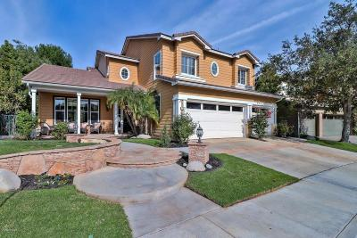 Simi Valley Single Family Home For Sale: 211 Knoll Ridge Road