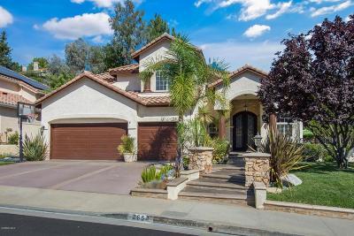 Westlake Village Single Family Home For Sale: 2654 Yellowwood Drive
