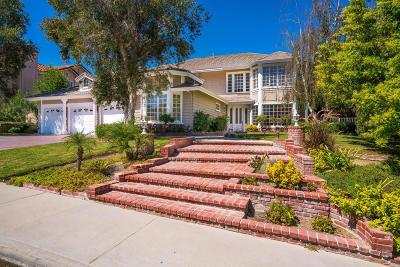 Agoura Hills Single Family Home For Sale: 5915 Bainbridge Court