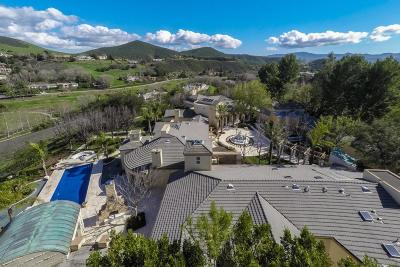 Agoura Hills, Calabasas, Westlake Village, Oak Park, Thousand Oaks Single Family Home For Sale: 1087 Vista Ridge Lane