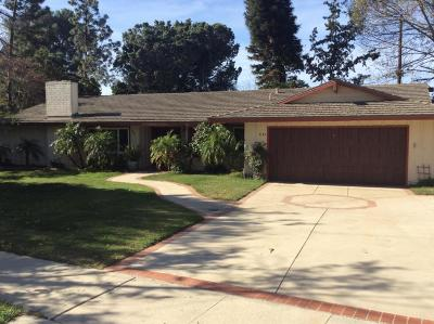 Camarillo Single Family Home For Sale: 3143 Goldenspur Drive