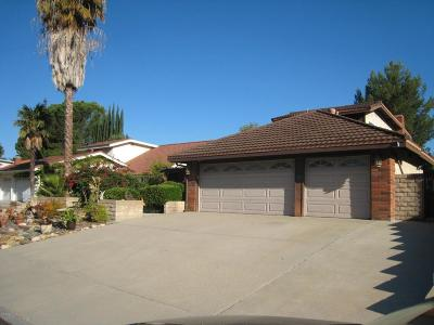 Agoura Hills Single Family Home For Sale: 28743 Timberlane Street