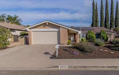 Simi Valley Single Family Home For Sale: 2246 Parker Court