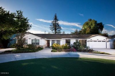 Thousand Oaks Single Family Home For Sale: 1310 Tierra Drive