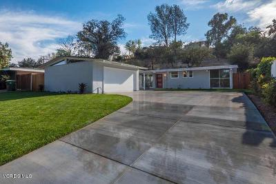 Woodland Hills CA Single Family Home Sold: $850,000