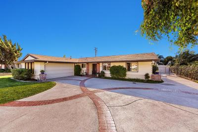 Camarillo Single Family Home For Sale: 860 Aloha Street