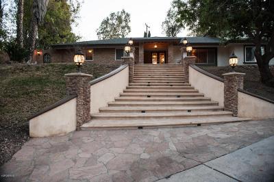 Thousand Oaks Single Family Home For Sale: 1540 El Cerrito Drive