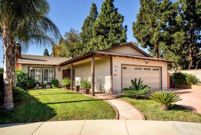 Camarillo Single Family Home For Sale: 399 Mira Flores Court