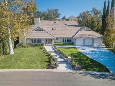 Westlake Village Single Family Home For Sale: 1752 Upper Ranch Road