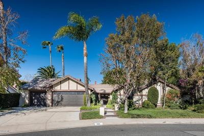 Thousand Oaks Single Family Home For Sale: 683 Wildcreek Circle
