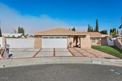 Simi Valley CA Single Family Home For Sale: $579,957