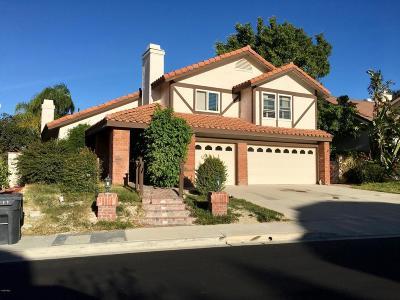 Thousand Oaks Single Family Home For Sale: 3379 Montagne Way