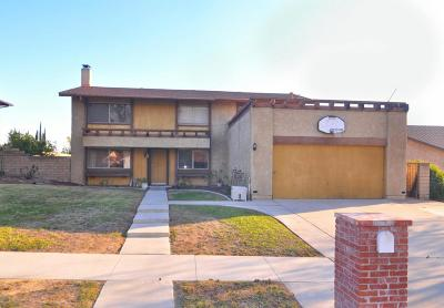 Simi Valley CA Single Family Home Sold: $502,500