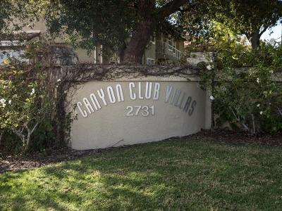Simi Valley Condo/Townhouse For Sale: 2731 Erringer Road #74