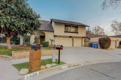 Simi Valley CA Single Family Home For Sale: $635,000