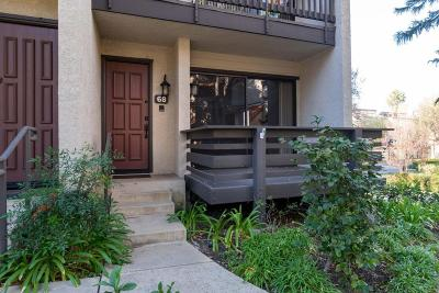 Woodland Hills Condo/Townhouse For Sale: 21801 Burbank Boulevard #68