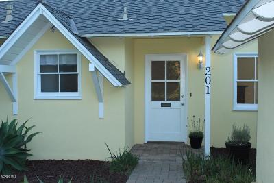 Ventura Single Family Home For Sale: 201 Day Road