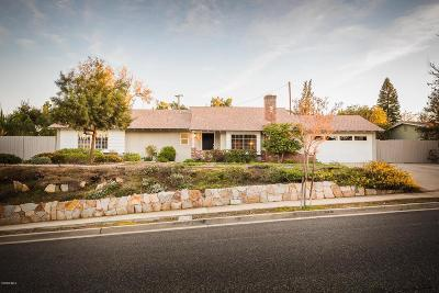 Thousand Oaks Single Family Home For Sale: 3094 Camino Del Zuro
