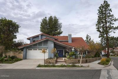 Simi Valley Single Family Home For Sale: 2859 Inyo Circle