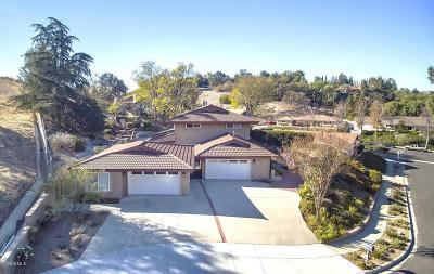 Thousand Oaks Single Family Home For Sale: 2424 Bascom Court