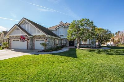 Thousand Oaks Single Family Home For Sale: 851 Camino Flores