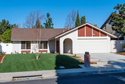 Thousand Oaks Single Family Home For Sale: 2657 Valencia Circle