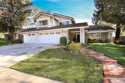 Thousand Oaks Single Family Home For Sale: 2068 Stonehill Circle