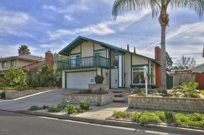 Simi Valley Single Family Home For Sale: 990 Hillview Circle