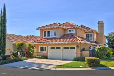 Westlake Village Single Family Home For Sale: 1777 Saint Andrews Place