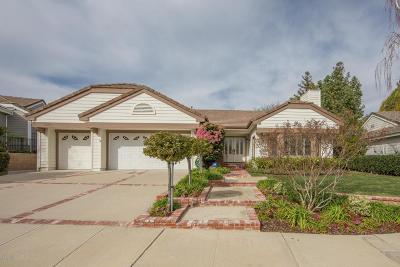 Thousand Oaks Single Family Home For Sale: 488 Twin Oaks Court