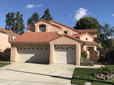 Moorpark Single Family Home For Sale: 7334 University Drive