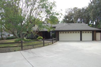 Newbury Park Single Family Home For Sale: 601 Paseo Grande