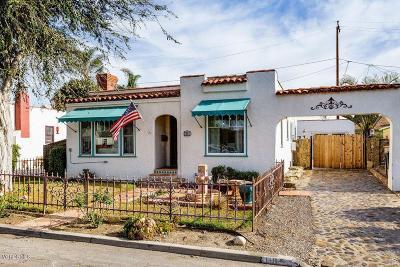 Ventura Single Family Home For Sale: 118 Emma Avenue