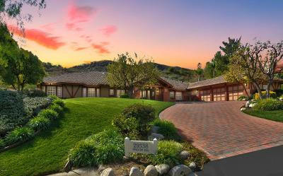 Agoura Hills Single Family Home For Sale: 29338 Wagon Road